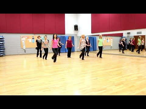 Bombshell Party Stomp - Line Dance (Dance & Teach in English & 中文)