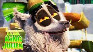 All Hail King Julien | Madagascar | King Julien Funny Moments #10 | Kids Movies | Kids Show