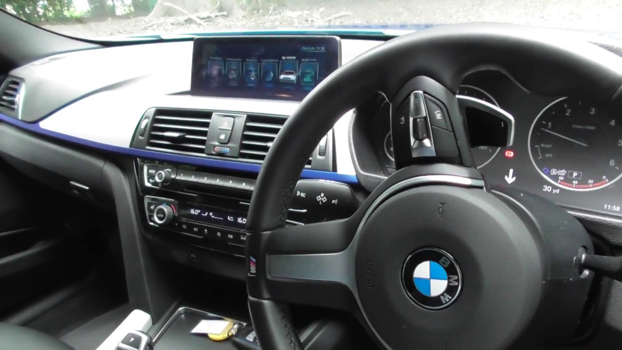 Bmw F30 3 Series Lci Facelift Interior Review Youtube