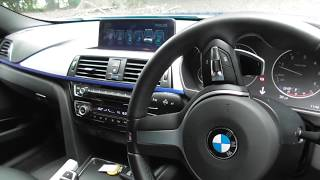 BMW F30 3 Series LCI Facelift Interior Review
