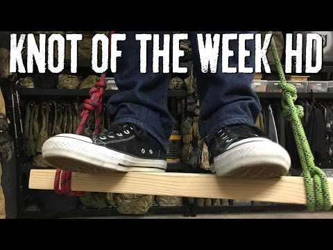 Create an Improvised Seat with the Scaffold Hitch - ITS Knot of the Week HD