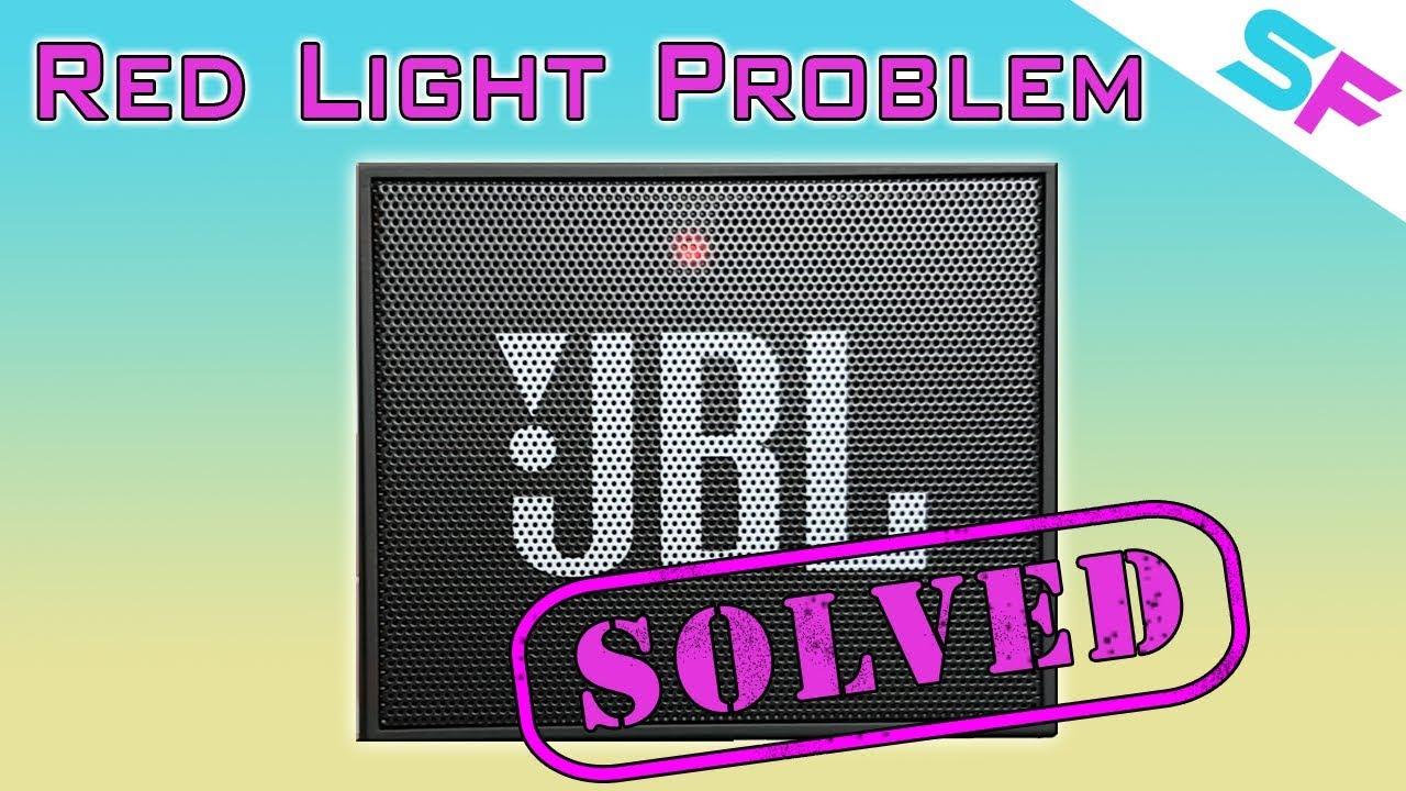 JBL Go Red Light Problem - How to solve