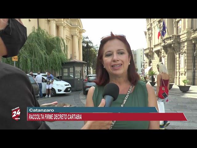 CATANZARO: RACCOLTA FIRME CONTRO LA RIFORMA CARTABIA