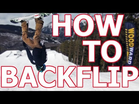 How To Layout A Backflip - Snowboarding Trick Tutorial