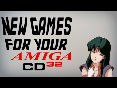 New Games for the Amiga CD 32