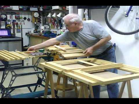 Fabricaci n de unas contraventanas mallorquinas parte 3 for Porticones madera exteriores