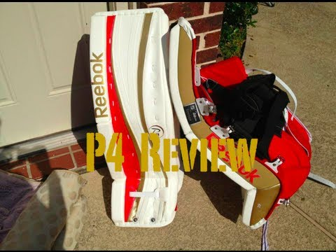 Reebok P4 Goalie Pads Review