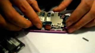 видео LG GS290 не работает сенсор