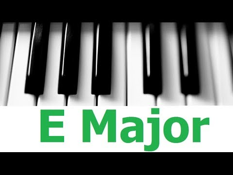 E Major Scale & Chords [All Scales & Chords Tutorial #5]
