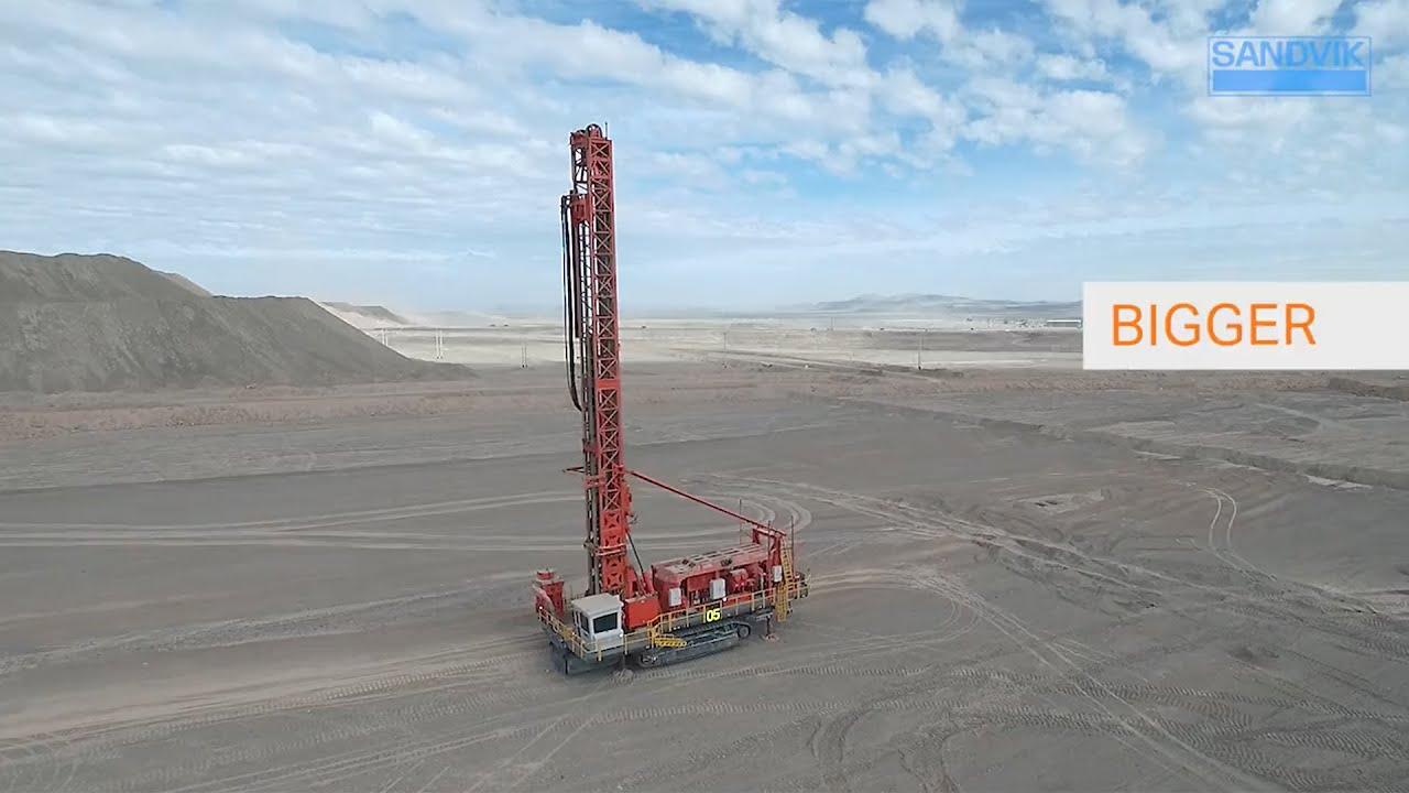 Sandvik DR416i Rotary Blasthole Drill (Spanish) | Sandvik Mining and Rock Technology