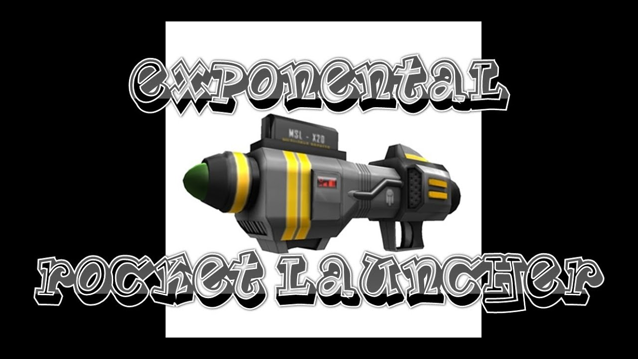 Codes for roblox gears over 100 gear codes for roblox - Roblox Gear Reviews Exponential Rocket Launcher