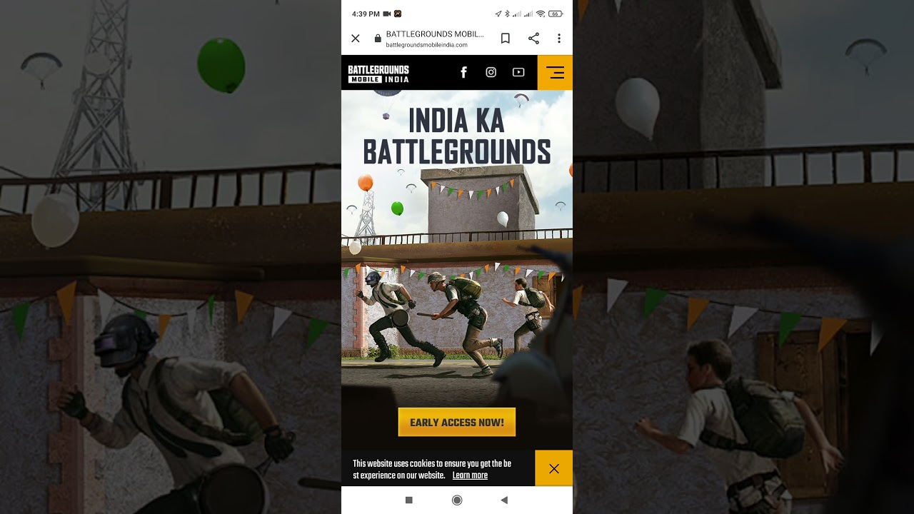 #bgmi how to get early access of Battlegrounds Mobile India