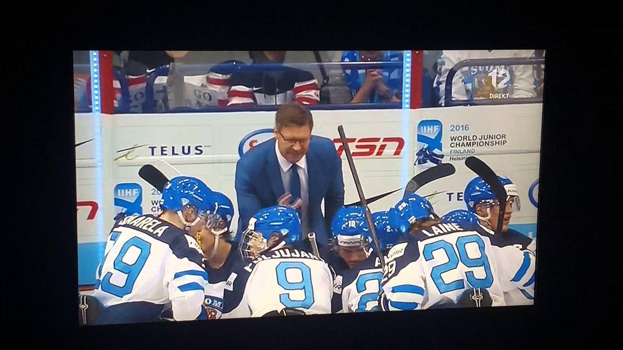 Kanada vs ryssland i jvm finalen