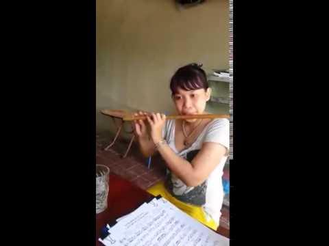 Câu hò bên bờ Hiền Lương sáo trúc Quyên Gà bamboof