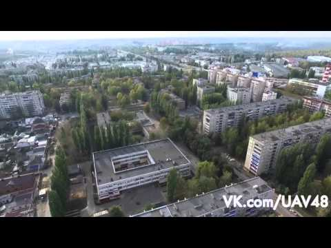 Липецк -  школы 51, 60 - аэросъёмка