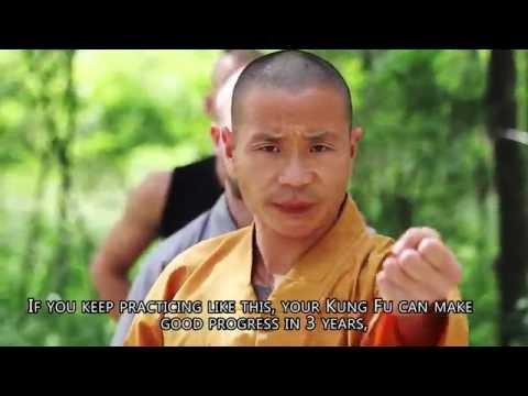 Shaolin Kong Fu martial art documentary - Wushu Accademy - Interview Shi Yan Jun