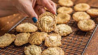बेकरी जैसी अजवाइन बिस्कुट बिना ओवन के कड़ाई और अपपम्ं पेन मे घर पे बनाए | ASMR cooking