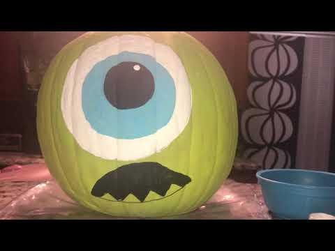 DIY Halloween Pumpkin