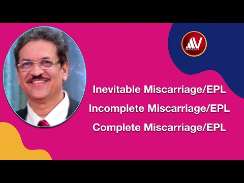 Early Pregnancy Loss: Inevitable, Incomplete and Complete Miscarriage