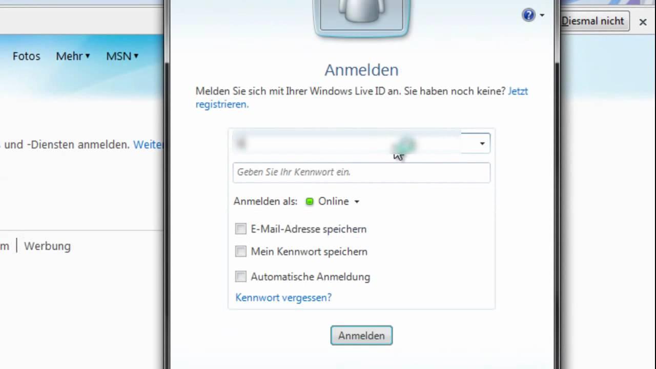 Msn Mail Registrieren