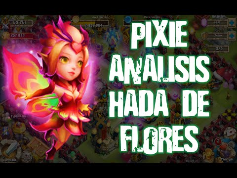 Castillo Furioso: New Hero Pixie Lvl 150 Gameplay Analisys