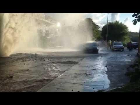 Burst water pipe west vale Halifax