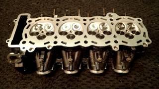 Скачать Yamaha YZF R1 Cylinderhead Rebuild