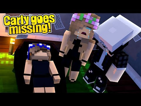 LITTLE KELLY SAYS GOODBYE TO LITTLE CARLY!! (Minecraft Roleplay)