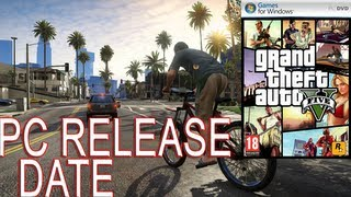 GTA V (5) - Official Rockstar PC Release Date, System Requirements. REVEALED! + funny video