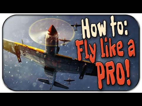 War Thunder Gameplay | How to fly like a pro in Arcade Battl