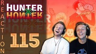 SOS Bros React - HunterxHunter Episode 115 - Breather Episode