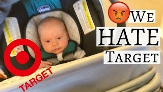 WE HATE TARGET l DAY IN THE LIFE WITH A NEWBORN VLOG l RaisingLily