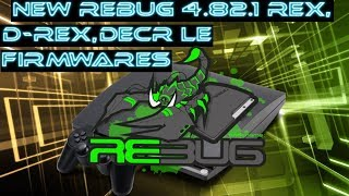 PS3 New Rebug 4.82.1 firmwares! Should you update? What are the differences? + some tips etc