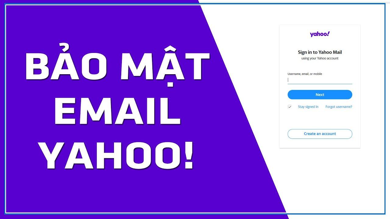 Hướng dẫn thiết lập xác minh 2 bước tài khoản Yahoo Mail