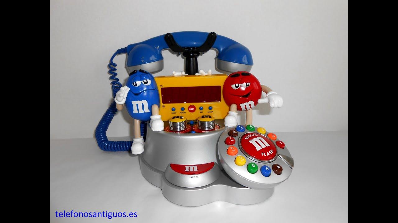 M&M'S CLOCK RADIO PHONE - YouTube