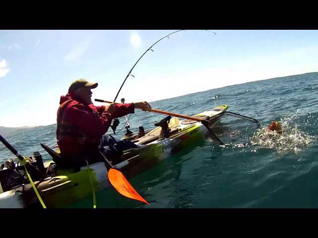 Ocean Kayak Fishing From A Feel Free Moken 14