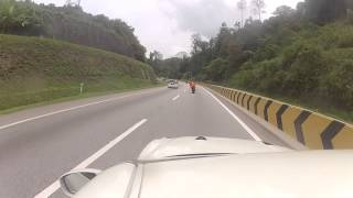 Nissan r35 and super bikes karak highway
