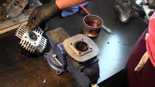 Puch Head vs Slant head on Motorized Bicycle Engine