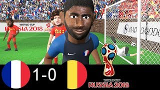 France vs Belgium 1-0 | 🏆 World Cup Semi-final 2018 🏆 | samuel umtiti Scores !