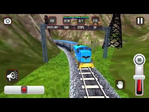 Indian Train Simulator 3D 2017 Gameplay Android NEW