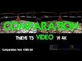 Yi4k e ThiEYE T5 comparation -Museo Dell'Auto Torino-