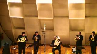 Boston Brass Compilation Video - Live in NYC
