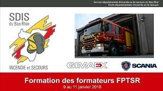 Formation des formateurs FPTSR SDIS 67