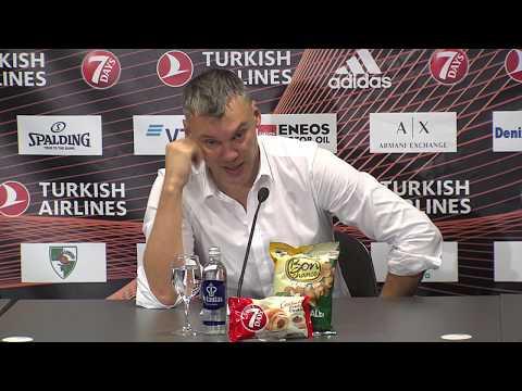 EuroLeague: Žalgiris Kaunas – Panathinaikos Athens press conference