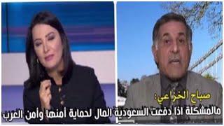 """خبير عراقي يلجم قناة الجزيرة: السعودية دفعت لشراء سلاح وغيرها دفع لشراء""""خرفان"""""""