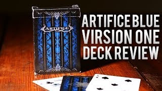 Deck Review -  Ellusionist Artifice Blue Virsion One Playing Cards