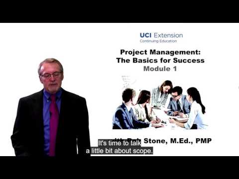 Project Management: The Basics for Success, Week 1: Foundational Project Management Elements