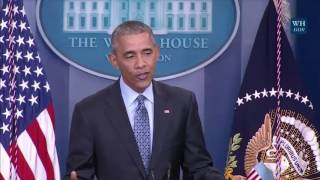 President Obama On Chelsea Manning 'Commuting Her Sentence Was Appropriate' 1/18/17