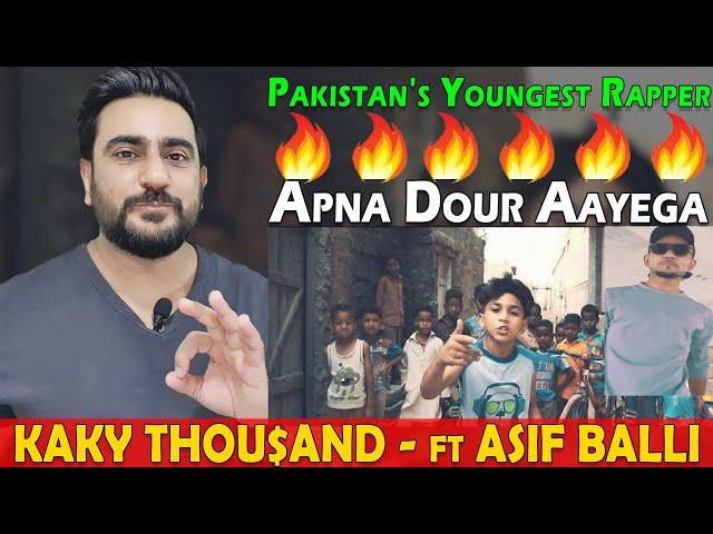 KAKY THOU$AND Apna Dour Aayega Reaction | ft ASIF BALLI | IAmFawad
