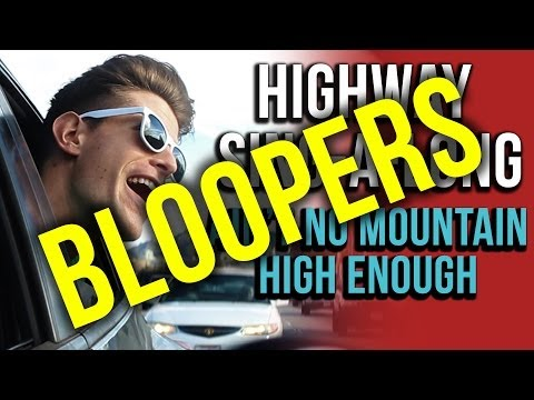 Ain't No Mountain High Enough BLOOPERS (Highway Sing-a-long Outtakes)